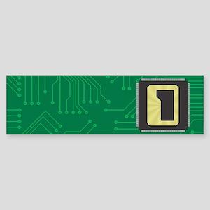CIRCUIT BOARD D Sticker (Bumper)