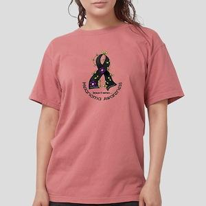 Flower Ribbon MELANOMA T-Shirt