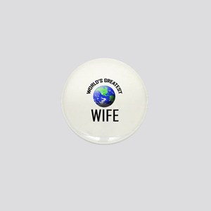World's Greatest WIFE Mini Button