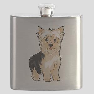 Yorkie Lover Flask