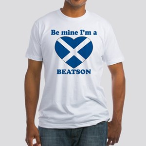 Beatson, Valentine's Day Fitted T-Shirt