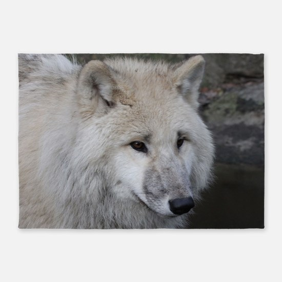 Wolf 0215 5'x7'Area Rug