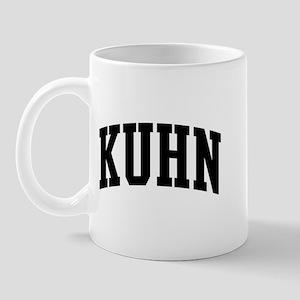 KUHN (curve-black) Mug