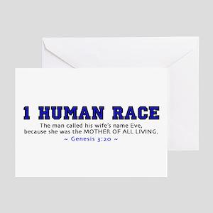 1 Human Race (BT) 2.0 - Greeting Cards (Pk of 10)