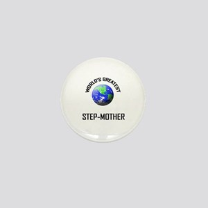 World's Greatest STEP-MOTHER Mini Button