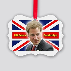HRH Duke of Cambridge Picture Ornament