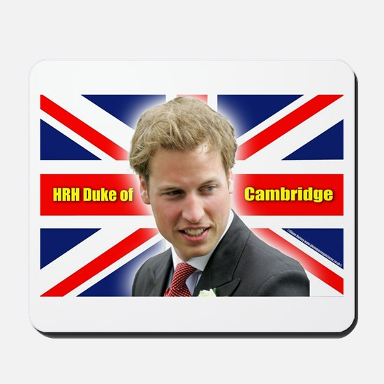HRH Duke of Cambridge Mousepad
