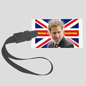 HRH Duke of Cambridge Large Luggage Tag