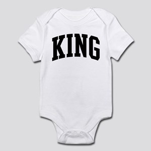 KING (curve-black) Infant Bodysuit