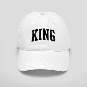 KING (curve-black) Cap