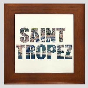 Saint Tropez Framed Tile