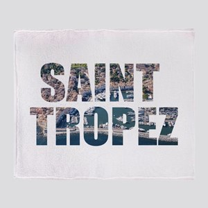 Saint Tropez Throw Blanket
