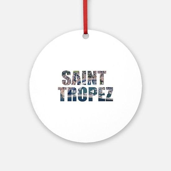 Saint Tropez Round Ornament