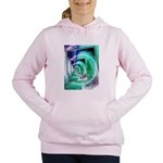 President Ronald Reagan Pop Art Women's Hooded Swe