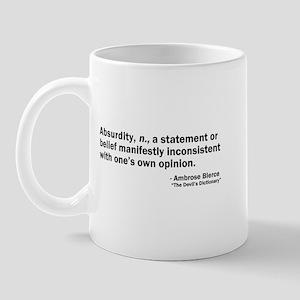 Absurdity Mug