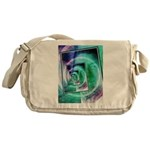 President Ronald Reagan Pop Art Messenger Bag