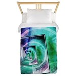 President Ronald Reagan Pop Art Twin Duvet