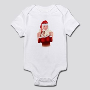 Santa's Angel #1 Infant Bodysuit