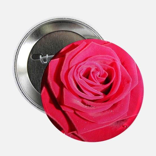 'Hello Darlin' Red Rose Button