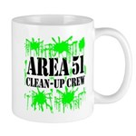 Area 51 Clean-Up Crew Mug