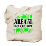 Area 51 Clean-Up Crew Tote Bag
