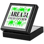Area 51 Clean-Up Crew Keepsake Box