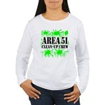Area 51 Clean-Up Crew Women's Long Sleeve T-Shirt
