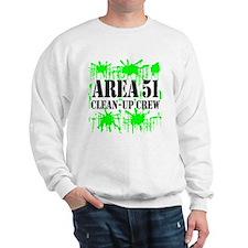 Area 51 Clean-Up Crew Sweatshirt