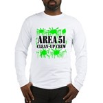Area 51 Clean-Up Crew Long Sleeve T-Shirt