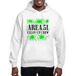 Area 51 Clean-Up Crew Hooded Sweatshirt