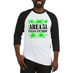Area 51 Clean-Up Crew Baseball Jersey