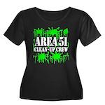 Area 51 Clean-Up Crew Women's Plus Size Scoop Neck