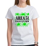 Area 51 Clean-Up Crew Women's T-Shirt