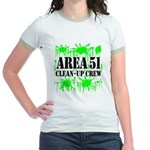 Area 51 Clean-Up Crew Jr. Ringer T-Shirt