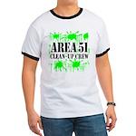 Area 51 Clean-Up Crew Ringer T
