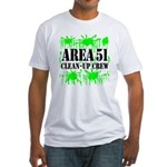 Area 51 Clean-Up Crew Fitted T-Shirt
