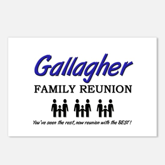 Gallagher Family Reunion Postcards (Package of 8)