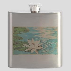 Lotus Flower Flask