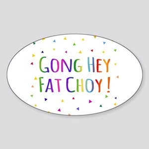 Gong Hey Fat Choy Happy Chinese New Year Sticker