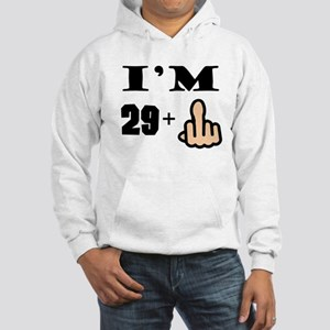 Middle Finger 30th Birthday Hoodie