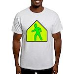 Alien Crossing/AlienShack Logo Light T-Shirt