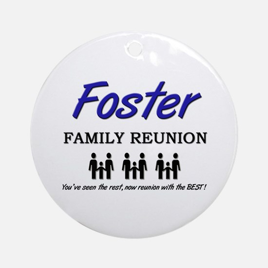 Foster Family Reunion Ornament (Round)