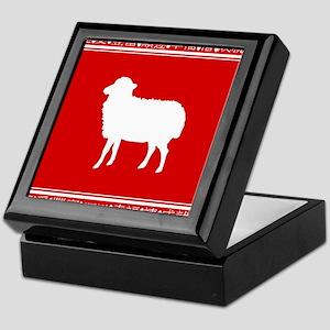 Year of the Sheep Chinese Zodiac Symbol Keepsake B