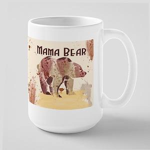 Mama Bear, Watercolor Bear Gift Mug Mugs