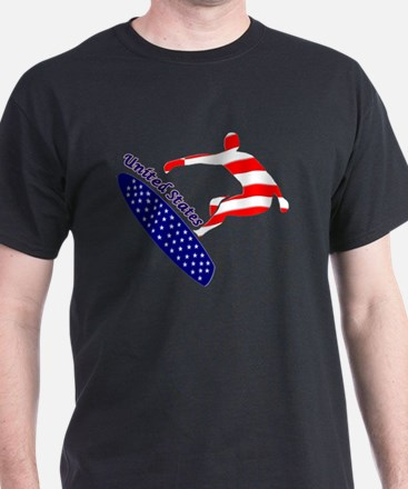 Usa Boarding Sports T-Shirt