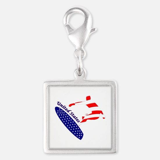 United States boarding logo Charms