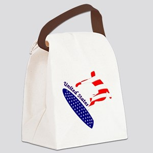 United States boarding logo Canvas Lunch Bag