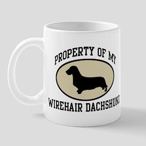 Property of Wirehair Dachshun Mug