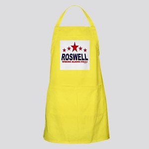 Roswell Where Aliens Fell Apron