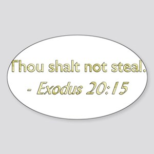 Eighth Commandment Sticker